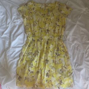 Old navy yellow sundress